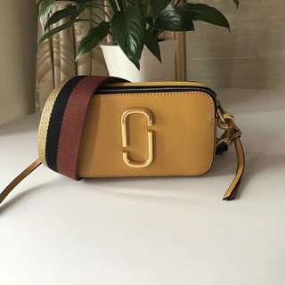 Marc Jacobs Snapshot Camera Bag - Mustard yellow
