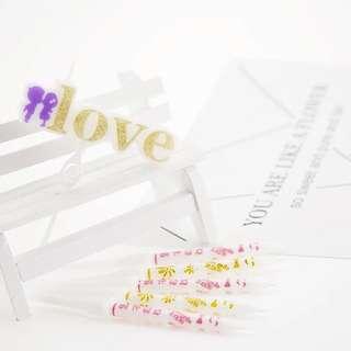 Birthday surprise arrangement candle romantic creative courtship LOVE(1+5)