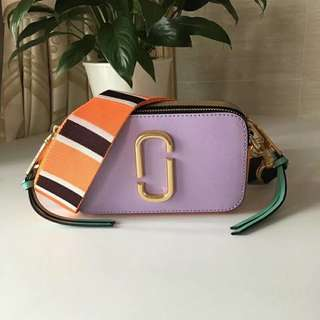 Marc Jacobs Snapshot Camera Bag - pastel purple