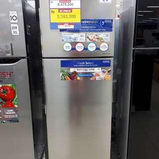 Kulkas Hitachi R27PGD7 2 pintu (Kredit MURAH)