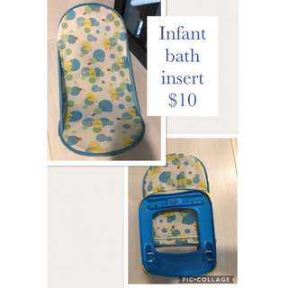Foldable Baby Bath Insert