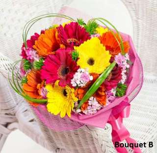 Mother's Day Bouquet (Mixed Gerbera) (Usual price $68)