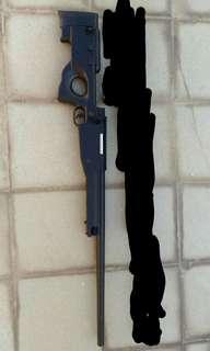 99%新E&C L96(AWP)手拉狙擊槍  不連鏡