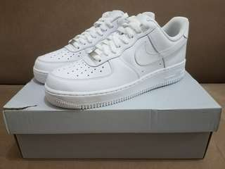 Nike Air Force 1 Low - Men's Size 8 US White