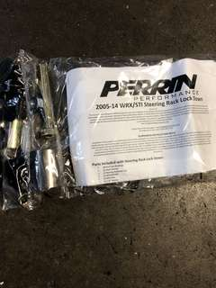 Perrin Steering Rack Lock Down