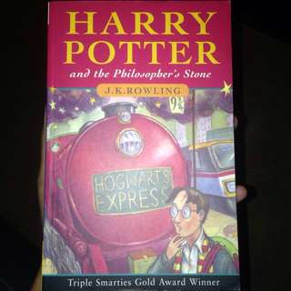 Book Harry Potter and the philosopher's stone  novel