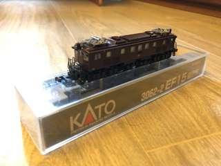 Kato N-scale train model 3062-2