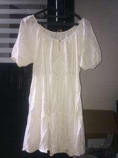 White Dress F21