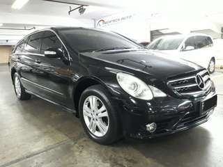Mercedes-Benz R300 L AT th.2010 nopol F-Bogor.Power Back Door-interior Orisinil BEACH