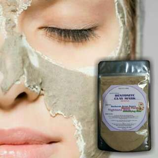 BENTONITE CLAY MASK 100grams