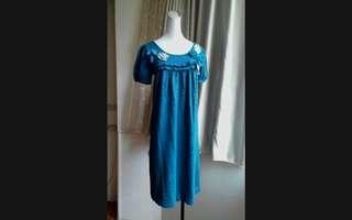 🚚 FFFF 立體布花針織洋裝