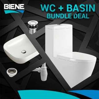 WC + BASIN bundle package