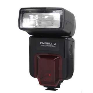 DSLR Camera Flashgun EMOBLITZ Powerzoom DPZ420