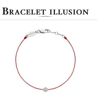 REDLINE TIMELESS ILLUSION SILVER RED BRACELET PANDORA