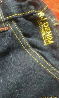 Jeans Rodeo RJ anak size 6