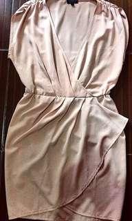 Topshop Overlap Dress