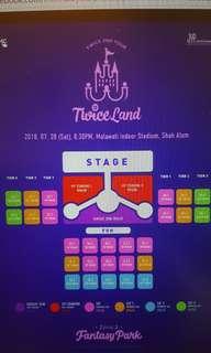트와이스 Twiceland in Kuala Lumpur Malaysia Concert Ticket Purchasing Queuing Service