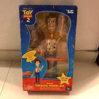 Disney Pixar toy story woody talking toy 迪士尼 反斗奇兵 胡迪 三眼仔