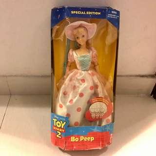 Disney Pixar toy story woody bo peep 迪士尼 反斗奇兵 胡迪 三眼仔 牧羊女 寶貝 barbie