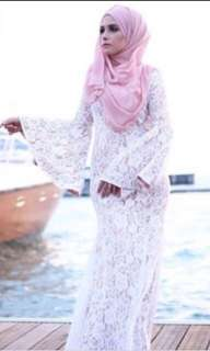 Isabelle Lace Dress white
