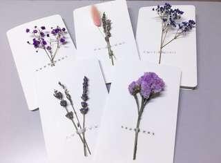 Dried Flower Card