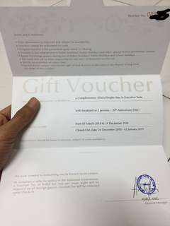 Voucher Doorsett Executive Room