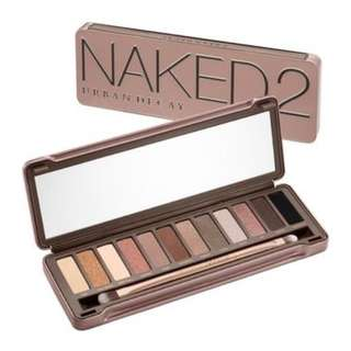 AUTHENTIC URBAN DECAY NAKED2 PALETTE. MISSING PANS.