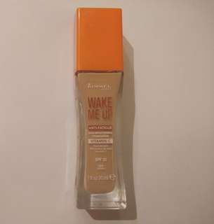 Rimmel Wake Me Up foundation in 100 Ivory