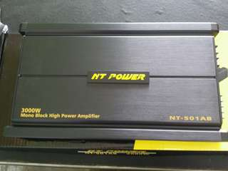 NT POWER CLASS AB MONOBLOCK AMPLIFIER