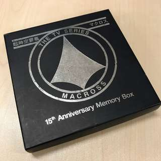 Macross-The TV Series VCD (15th Anniversary Memory Box)
