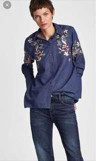 Zara authentic top