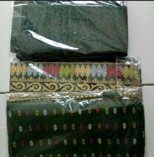 Bahan Batik dan Embos