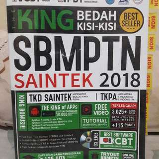 THE KING BEDAH KISI KISI SBMPTN SAINTEK 2018