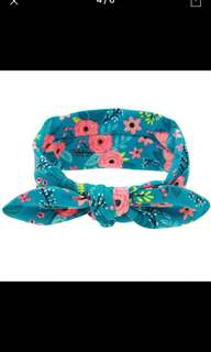 Rita Bow Floral Headband
