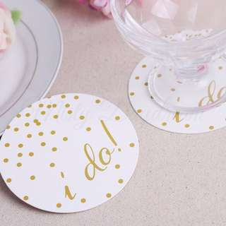 I Do Coasters 12pc pack