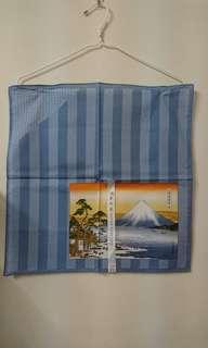 🚚 日本富士山圖案純綿帕巾