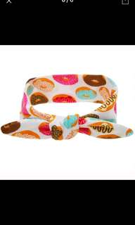 Luna Donut Bow Headband