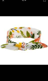 Penny Floral Bow Headband