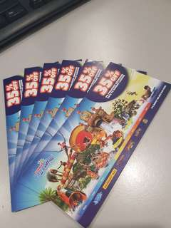 Sunway Lagoon 35% off [4TICKETS/voucher]