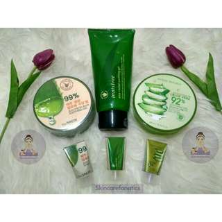 Aloe Vera Gel (Innisfree / Nature Republic / The Saem)