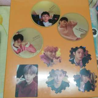 WTT Wanna One I Promise You Mirror Cards, Tazos and Photocards