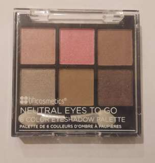 bh cosmetics neutral eyes to go aplette