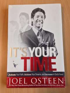 Joel Osteen It's Your Time