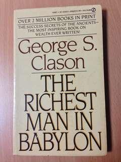 George Clason The Richest Man in Babylon