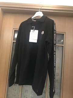Brand new  Moncler Maglia  Polo Shirt Kids 14 for only $1480