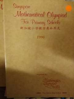 Singapore Mathematical Olympiad For Primary Schools