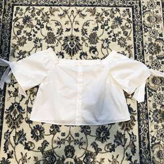 Forever 21 - Off The Shoulder Top (White)