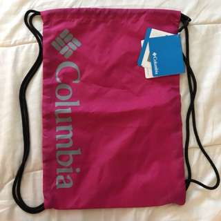 Original Columbia drawstring bag