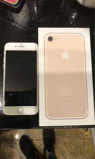 iPhone 7 32 fb gold unlock