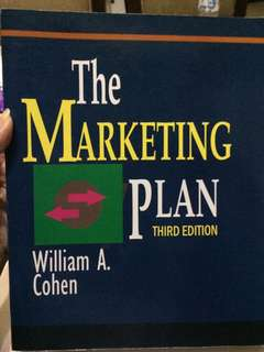The marketing plan by william a. cohen